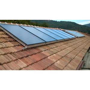 Est1fkv struttura di montaggio soprategola per 1 - Centrale solare a specchi piani ...