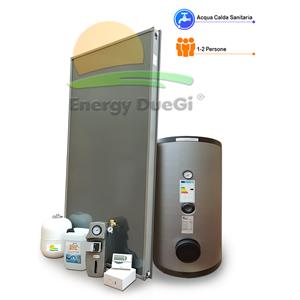 E15a1sv kit impianto solare termico per produzione acqua for Pvc per acqua calda