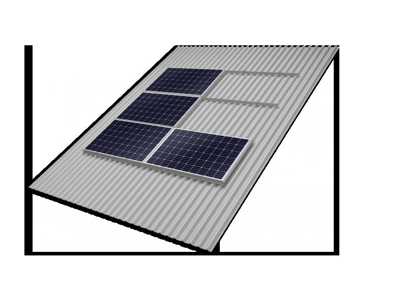 guarnizione nera per tubo Ø 47 mm per pannello pannelli solare solari